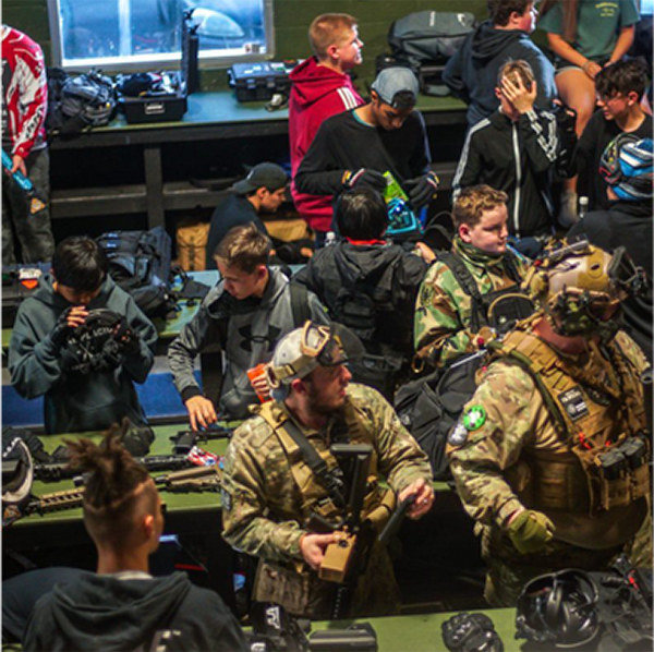 SS Airsoft Team Building Activity